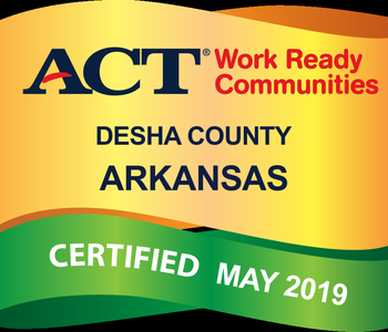 Desha County Certified as a Work-Ready Community